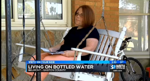 Belmont, N.C., resident Amy Brown has rallied her neighbors to demand answers from Duke Energy and state officials on how her well water was contaminated. See video below.