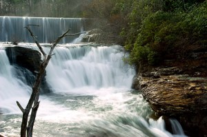 Upper DeSoto Falls. Photo by Kerry Sanders