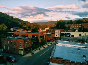 Local newspapers in Kentucky have helped expose environmental regulators' lax treatment of industry. But Kentucky's politicians and agencies aren't shy in revealing whose interests they truly serve either. Photo of downtown Whitesburg, Ky.