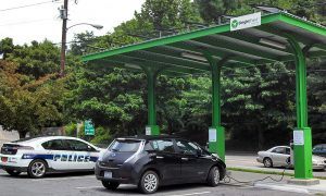Brightfield charging station in Asheville, N.C.