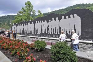 The Upper Big Branch Miners Memorial in Whitesville, W.Va. Photo via Flickr licensed under Creative Commons.