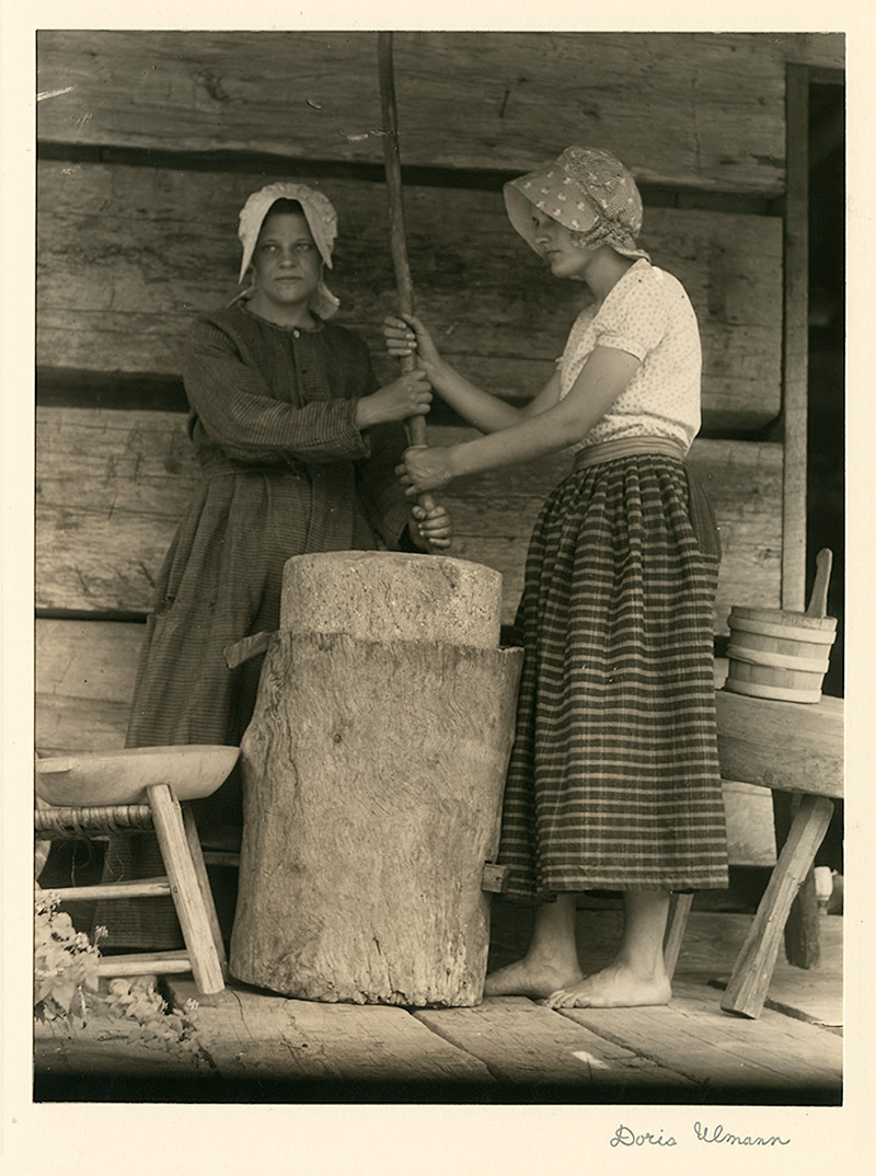 appalachian culture appalachian voices doris ulmann maggie lewis and wilma creech pine mountain ky