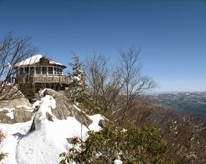 Mt. Cammerer firetower. Photo by Thomas Gaines, tgainesphotography.blogspot.com