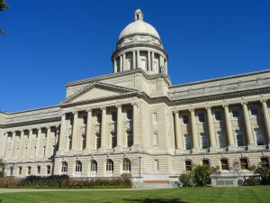 With the challenges facing coal in eastern Kentucky, it remains to be seen how the industry will maintain its political power in the state. Photo of Kentucky State Capitol via Wikimedia Commons.