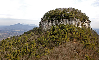Pilot Mountain in Surry County. Photo by Joe Potato / iStockPhoto