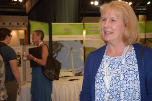 Tammy Owens, owner of Foxfire Farm in  Dickenson County, Va., at the Southwest Virginia Economic Forum in May.