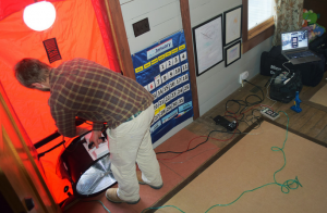 "John Kidda, a Boone-area home energy contractor, donated an extensive energy audit on the a local home as part of the ""High Country Home Energy Contest."""