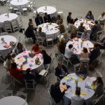 During breakout sessions, attendees discussed solar energy, agriculture, health and more.
