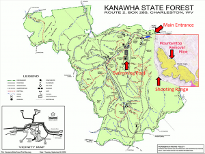 Map courtesy Kanawha Forest Coalition