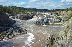Great Falls on the Potomac River. Photo courtesy of the National Park Service