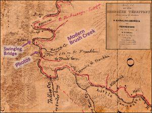 1837 U.S. Army map