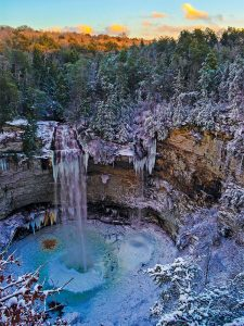 frozen-waterfalls