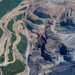 Mountaintop removal coal mines like this one in W.Va. have polluted streams for years. Photo by Kent Mason.
