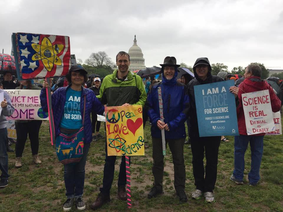 AppVoices Marches for Science