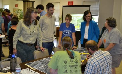 Citizens meet to discuss options and opportunities for the Norton Riverwalk proposal in Southwest Virginia.