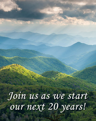 Join us as we start our next 20 years