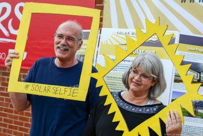 John and Lucy Graves of Bristol, Va. were among the 150 people attending the 2017 Solar Fair in Southwest Virginia