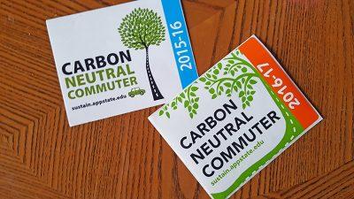 carbon neutral commuter sticker