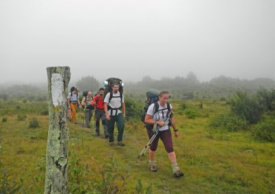Participants in a Leave No Trace Master Educator Course learn to care for healthy landscapes while making as little impact as possible. Photo courtesy of the Appalachian Trail Conservancy