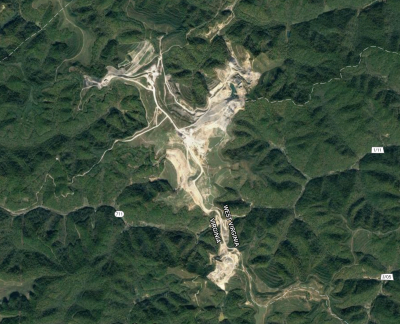 map of Twin Star mine