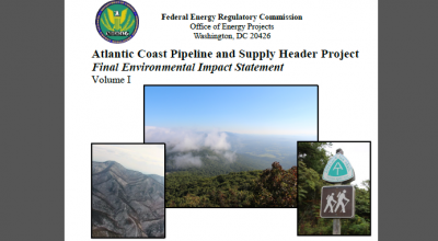 FEIS on Atlantic Coast Pipeline
