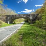 A stone bridge on the parkway
