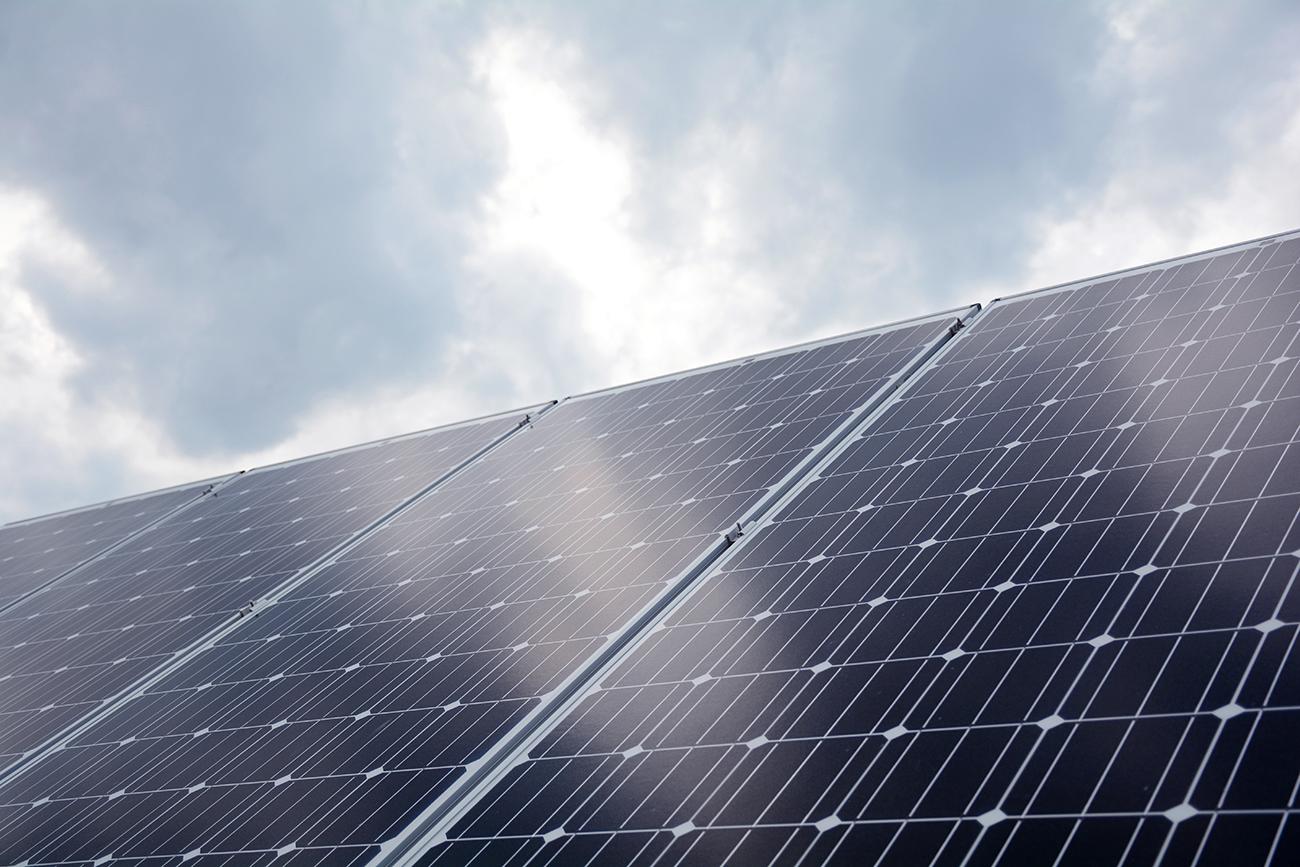 solar panels in Wise County, Va.