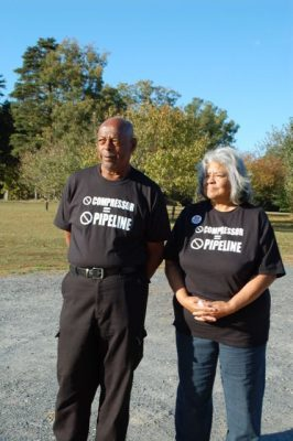 Buckingham County residents John and Ruby Laury