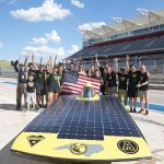 App state's solar vehicle