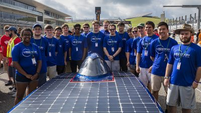 Photo courtesy of UK Solar Car Team