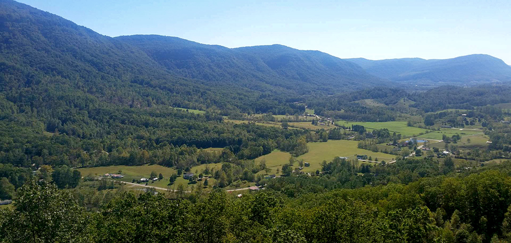 Overlooking Powell Valley, located between Big Stone Gap and Norton, Va.