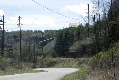 A Red River processing plant, near the site of the complaint