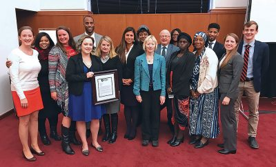 Members of the Virginia Environmental Justice Collaborative
