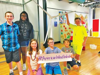 Kids At Wind Energy Summer Camp