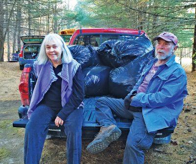 SAMS Members Jane Branham and Bill McCabe