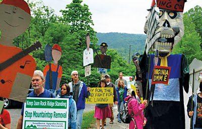 SAMS Members Protesting