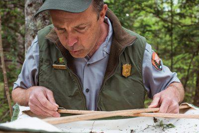 Forester Jesse Webster