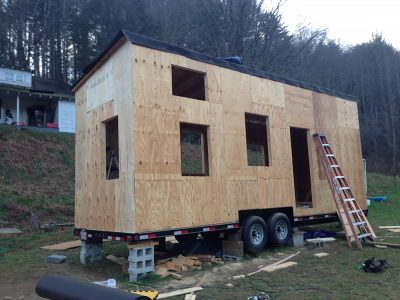 plywood sheathing