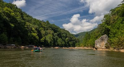 rafting the Cheat River
