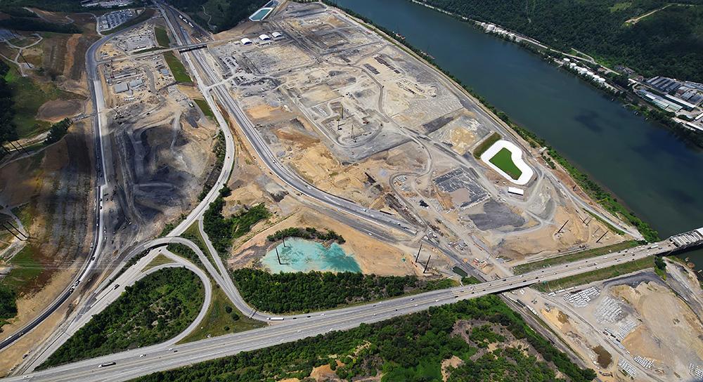 cracker plant site