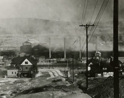 historical photograph of Donora, Pennsylvania