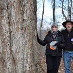 Bill and Lynn Limpert by tree