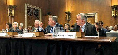 testifying before Congress