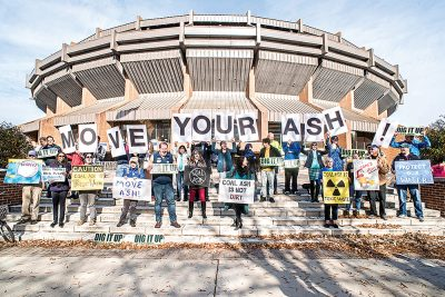 rally for coal ash cleanup