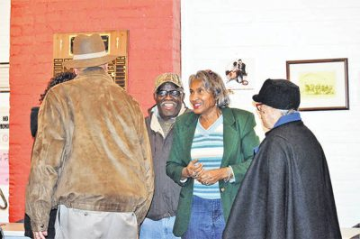 community members celebrate annexation