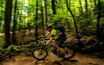 Mountain biking in Pisgah
