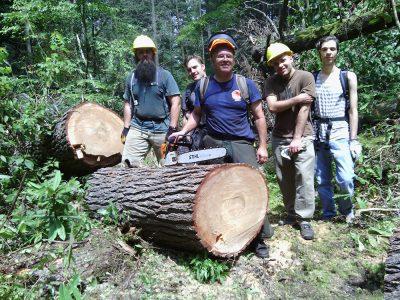 trailwork crew