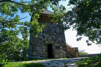 Wayah Bald lookout tower