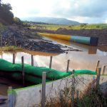 Flooded field caused by Mountain Valley Pipeline Construction