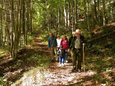 guided hike Bluestone Turnpike Trail